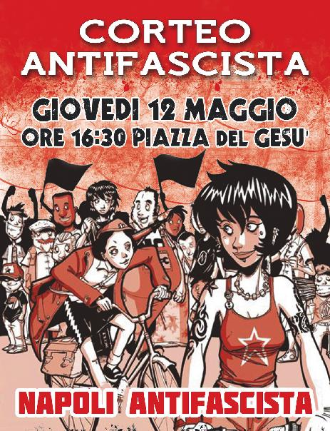 Corteo Antifascista a Napoli