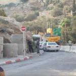 Palestina check point