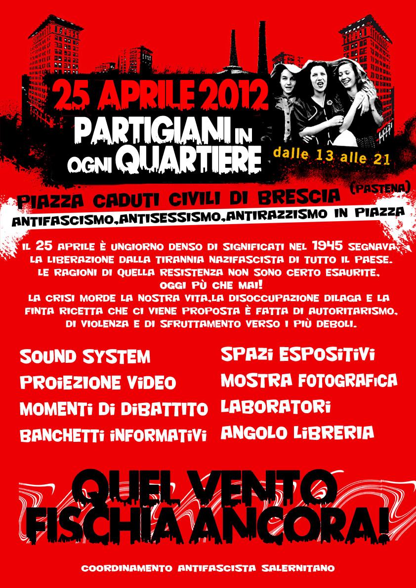 25 aprile Salerno