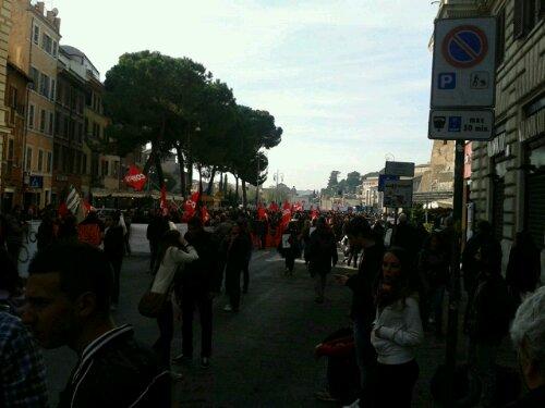 Roma una città recuperata con la lotta