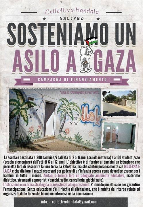 """Sostieni l'adozione dell'asilo """"Speranza e Futuro"""" a Khan Younis (striscia di Gaza)"""