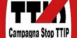"""Continua la campagna """"No TTIP""""."""