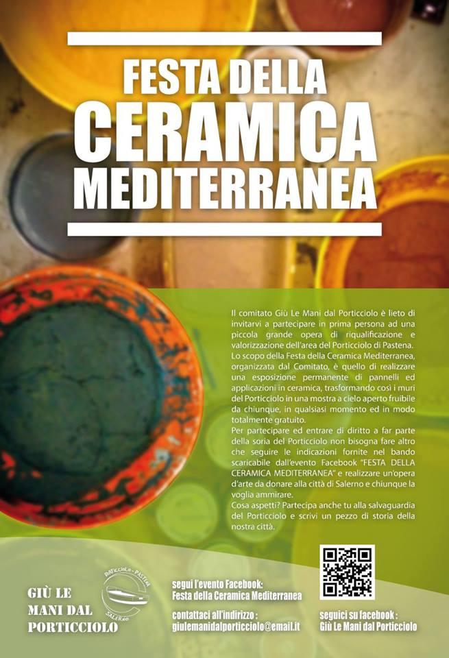 """Il 7 Dicembre """"Festa della Ceramica Mediterranea""""."""