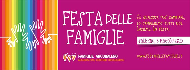 3 Maggio: La Festa delle Famiglie, di tutte le famiglie.