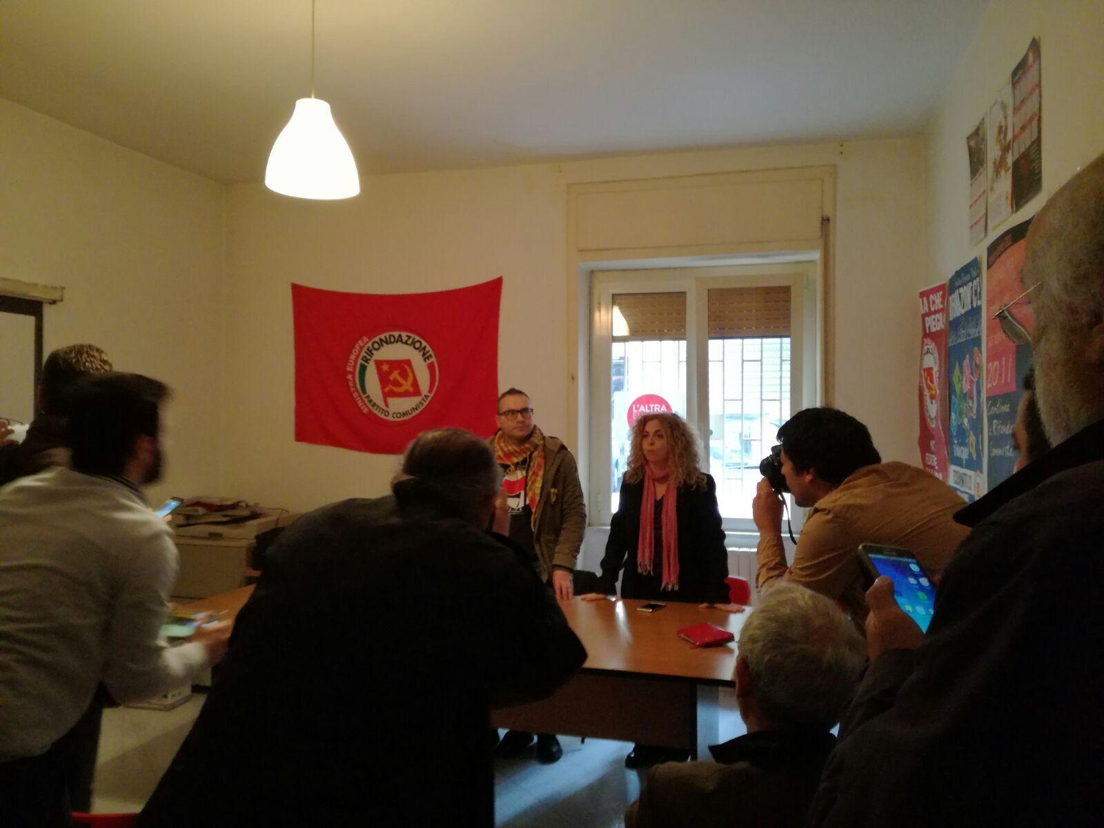 Solidarietà al sindaco Voza