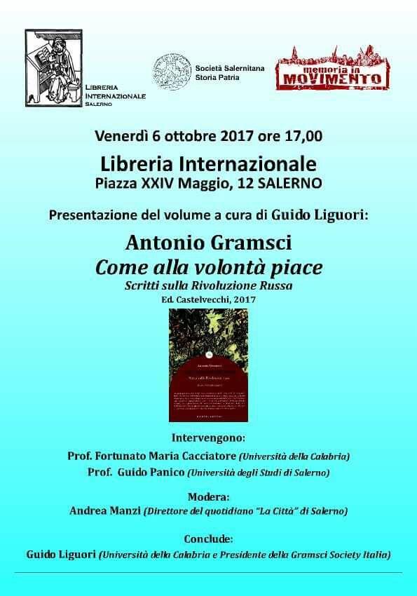 Presentazione del libro di Guido Liguori