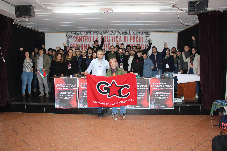 Costruire l'opposizione politica e sociale: la sesta conferenza dei Giovani Comunisti
