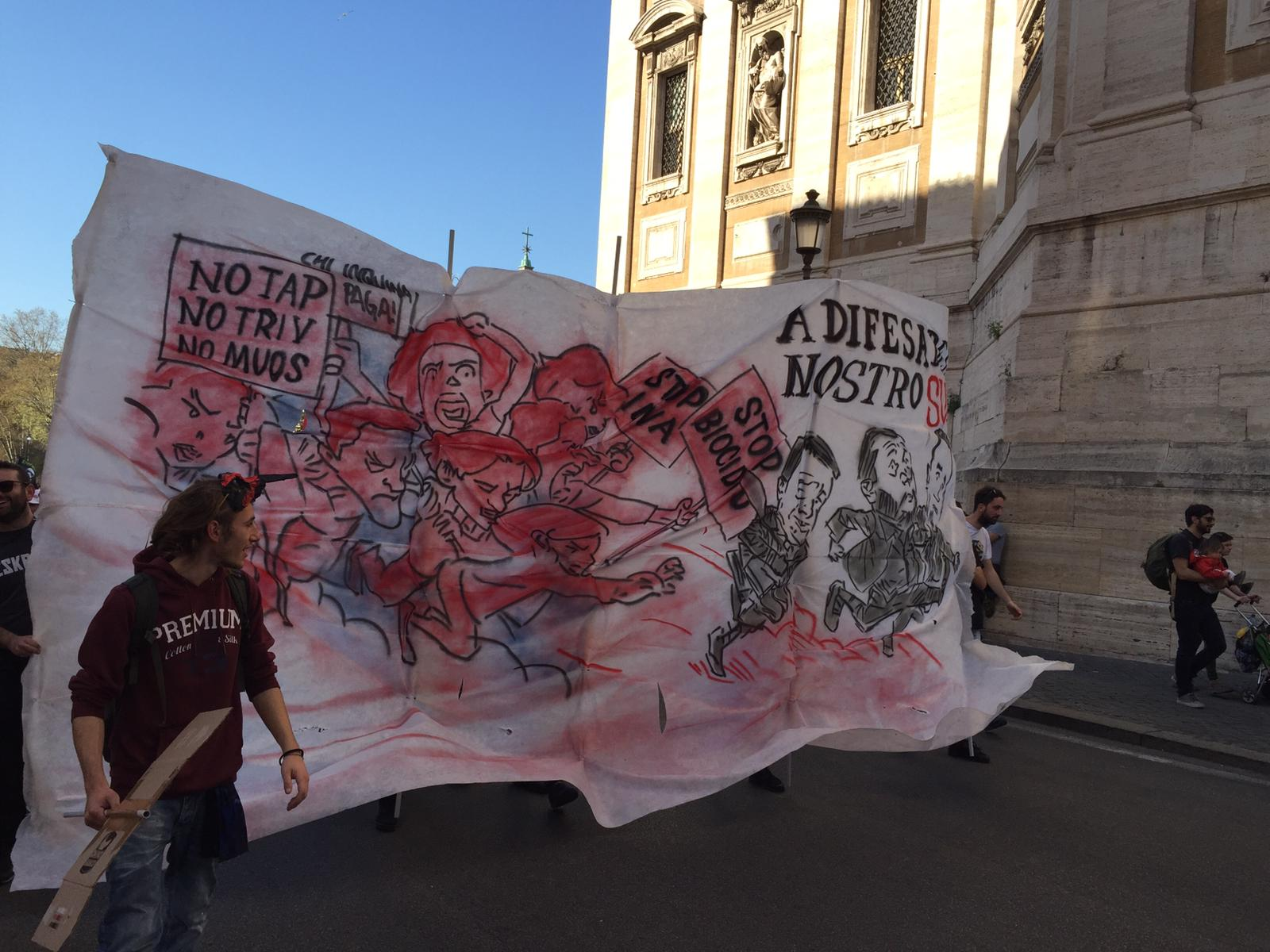 Il 23 Marzo a Roma e il silenzio mediatico