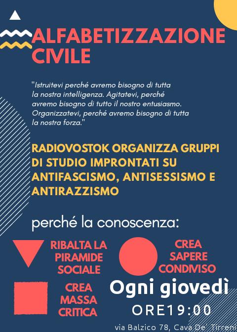 ALFABETIZZAZIONE CIVILE: sesta lezione, la fine del fascismo