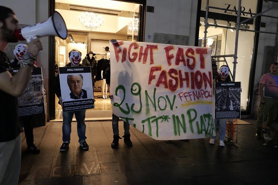 Contro lavoro nero e fast fashion,#killtherich!
