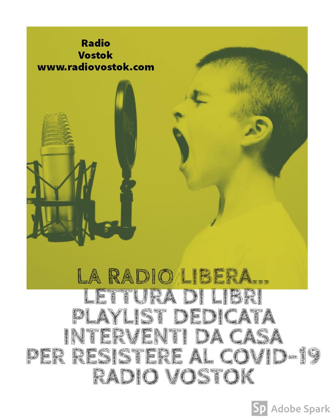 La radio libera: ascolta un libro